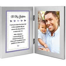 Godfather Gift From Godson, Baptism Or Birthday - Add Photo Baby