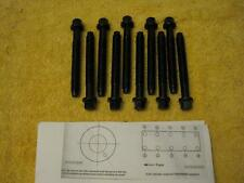 NEW FORD 140 2.3 2.3L CYLINDER HEAD BOLTS MUSTANG XR4TI TURBOCOUPE TURBO T3 SVO