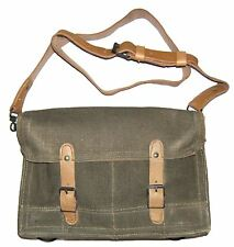 Genuine Musette Bag 60s French Vintage Leather Bag
