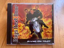 Boys next door: Bang on time! - Cd (2004) Ian Statham - Day Walker - Bob Statham