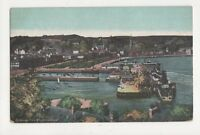 Rothesay From Skippers Wood Bute Vintage Postcard 645a