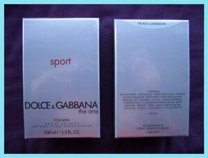 Dolce & Gabbana THE ONE SPORT   100ml EDT - NEW SEALED - UK STOCK