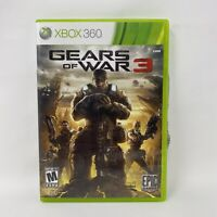 Gears of War 3 (Microsoft Xbox 360, 2011) No Manual Tested Working