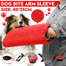 More details for dog bite training sleeve tugs protection nylon left right arm hand suit handle