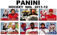 Hockey Panini OVECHKIN TOEWS SUBBAN THOMAS LINDSTROM NHL 2011-12 stickers sport
