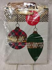 HALLMARK INSPIRATIONS PACK OF 16 MEDIUM HOLIDAY GIFT BAGS CHRISTMAS