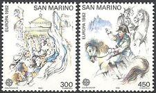 1982 EUROPA CEPT AVVENIMENTI STORICI SAN MARINO MNH **