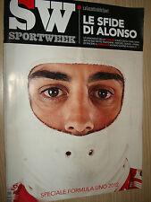 Deporte Semana N° 10 (581) 2012 Fernando Alonso Especial Formula 1 Ferrari F1