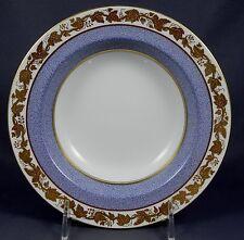 WEDGWOOD WHITEHALL POWDER GRAY W3979 Rmmed Soup Plate (Bowl)