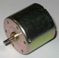 Cassette Rewinder DC Motor - 12 V - 4700 RPM - Low Current Draw
