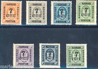 DENMARK  SCOTT#185/90   MINT HINGED