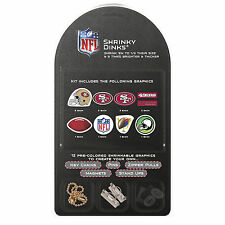 San Francisco 49ers Shrinky Dinks Kit Key Chains Pins Magnets Zippers