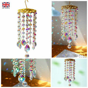 Colorful Crystal Wind Chimes Perfect Decoration to Your Garden Patio Lawn Gift