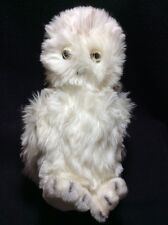 "Nature Babies Snowy Owl 12"" Plush 1981 Tags Soft Toy Stuffed Bird White"