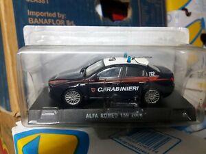 Alfa Romeo 159 - DIE-CAST Carabinieri 1:43 1/43 1-43