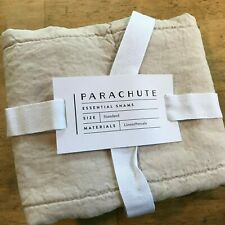 Parachute Home Single (One) Pillow Sham Quilted Standard Size Blush Linen