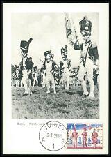 Belgio MK 1958 presentata Militare Military Soldier MAXIMUM CARD MC bg39