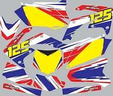 Graphic Kit for 1991-1992 Honda CR125 CR 125 shrouds fender plastic decals