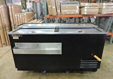 True TD-65-24 Commercial Solid Slide Lid Deep Well Horizontal Bottle Cooler