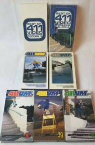 411 Video Magazine VHS: Best of 2 & 3, #18, #23, #30, #39, #40 (7 total videos)