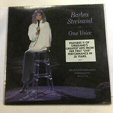 "Barbra Streisand One Voice (Barry Gibb) 1987 EXc Australia Pressing 12"" Record"