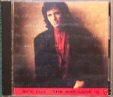 Rick CUA-the way love is EX Outlaws CD
