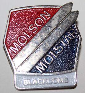 Molstar Molson Canadian Beer Whistler Blackcomb Downhill Skiing Collectible Pin