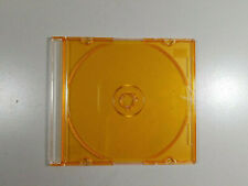 Lot of 20 CD DVD Gold/Orange Slim Jewel Case NEW