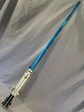 Star Wars Obi-Wan Anikan Hasbro Luke Light Saber Blue Spring Loaded 2006 LFL
