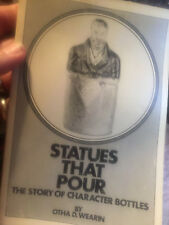 Character Statue Figure Bottles - Types History Development / Scarce Book