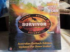 Survivor the Australian Outback 2nd Edition Board Game New Sealed