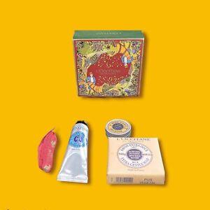 Loccitane Shea Butter Gift Set Sample Hand Cream, Soap, Pure Shea New In Box
