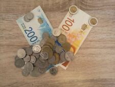 409.20 ISRAELI NEW SHEKELS Left Over Holiday Money