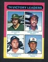 1975 Topps #310 Jim Hunter/Fergie Jenkins/Andy Messersmith/Phil Niekro NM/NM+ Vi