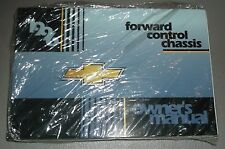 NEW NOS 1996 Chevrolet Forward Control Chassis Owners Manual Bus Truck Motorhome