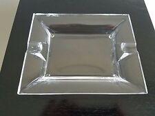 Nat Sherman Crystal Glass Cigar Ashtray
