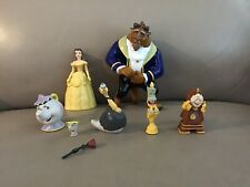 Beauty And The Beast Figure Play Set Disney Pvc Toy Belle Potts Lumiere Chip