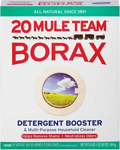 Borax 20 Mule Team All Natural Laundry Booster & Multi-Purpose Household Cleaner