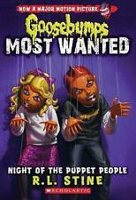 Night of the Puppet People (Goosebumps Most Wanted #8) by R L Stine (Paperback / softback, 2015)