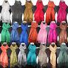 LARGE plain Pashmina scarf SILK FEEL WEDDING satin scarves Shawl 233 grams