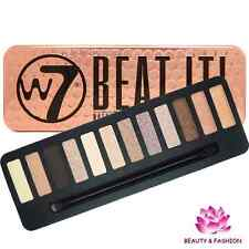 PALETTE  FARDS OMBRES A PAUPIÈRES W7 BEAT IT NATURAL NUDES  MAQUILLAGE NEUF