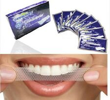 GENKENT 28 pcs TEETH WHITENING STRIPS-RAPID HOME TOOTH BLEACHING-WHITER WHITE