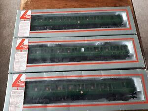 Lima OO Gauge 3 Car DMU BR Class 117 GREEN BOXED USED
