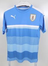 Puma Uraguay National Team Soccer Futbol Jersey Mens Blue White Size Medium