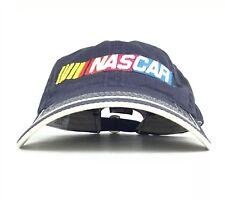 NASCAR Navy Blue Baseball Cap Hat Adjustable Adult Size Cotton