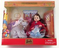 2001 Barbie Kelly Little Red Riding Hood Wolf 4th Storybook Favorites Collection