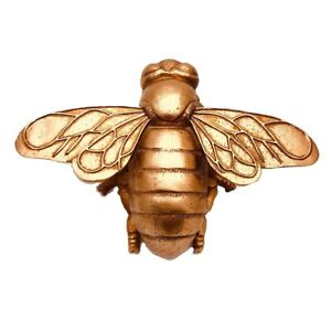 Rose Gold Bee Wall Hanging Or Free Standing Ornament 20 cm Lovely Detail 7RG303