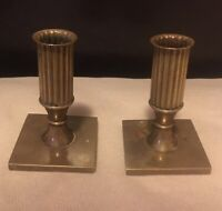 Metallslojden Gusum Brass Candlestick Holders Set Of Two 1976