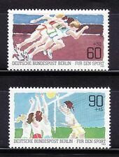 SELLOS OFERTA!!! CHILE 1982 ALEMANIA BERLÍN 625/26 Atletismo, Boleivol 2v.