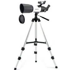 Visionking 80mm Refractor Astronomical Telescope Spotting Scope High Tripod